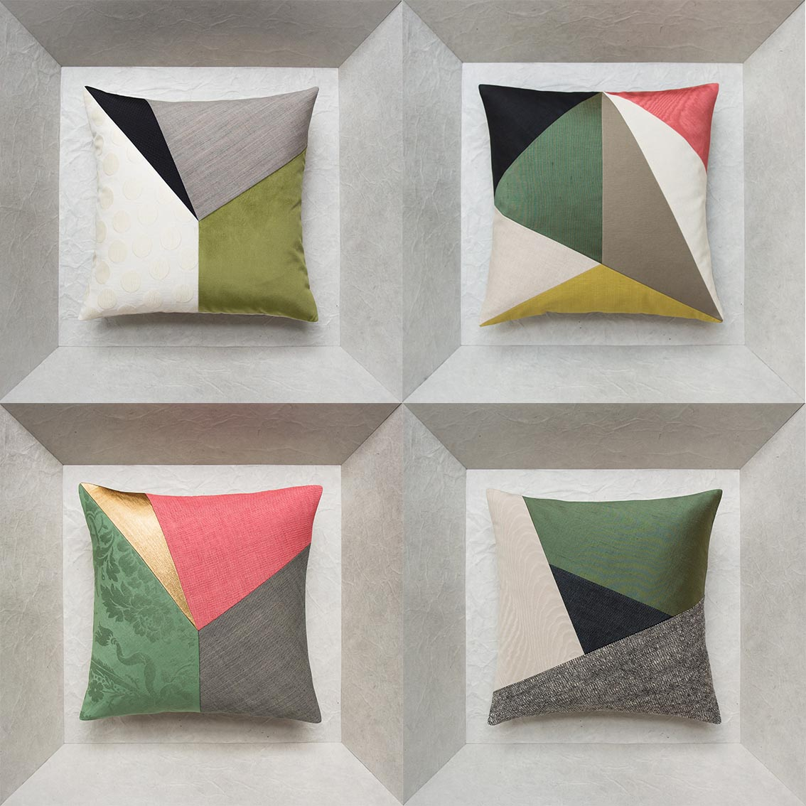 handmade cushions for interior design