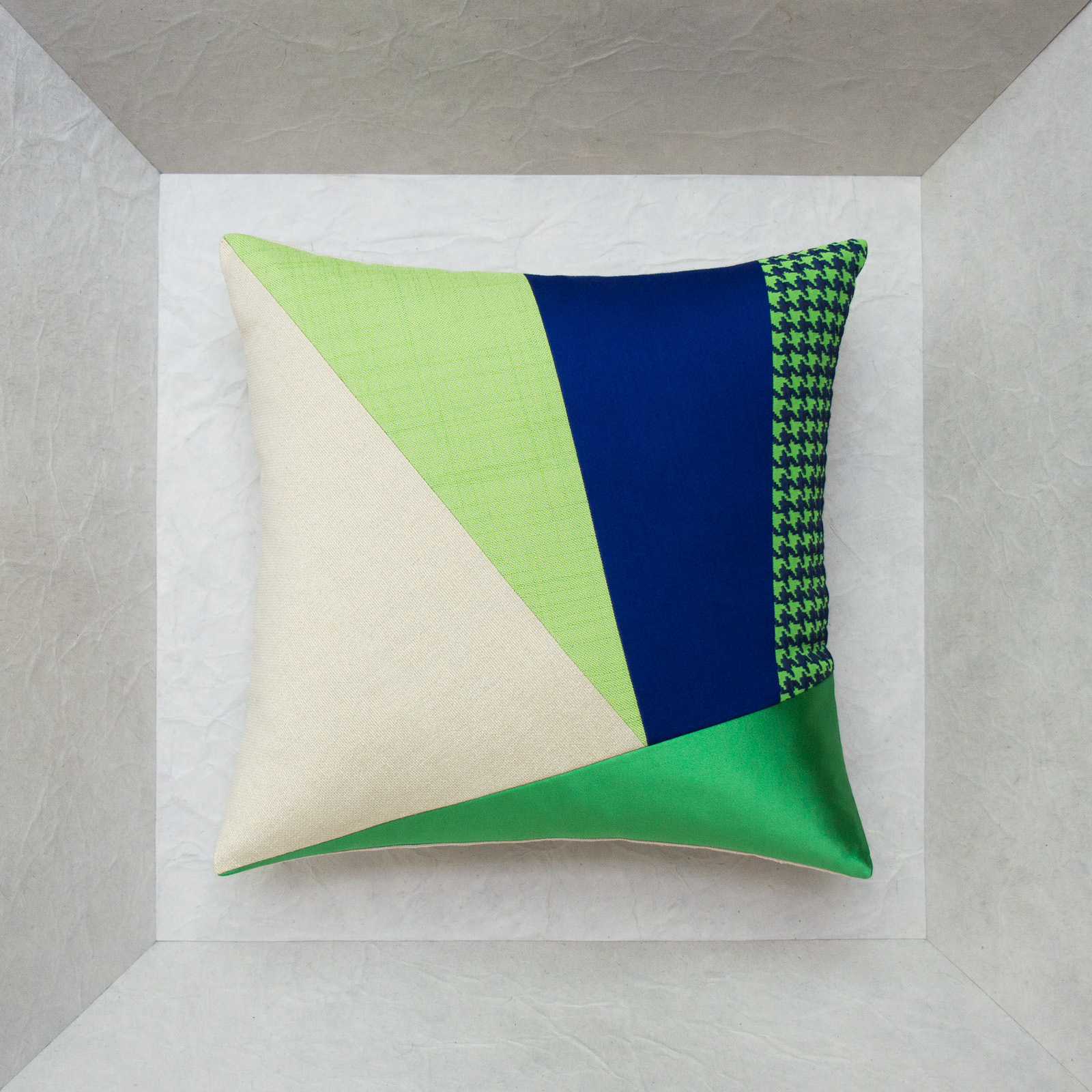 luxury cushion made in france